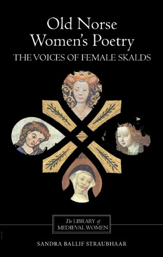 Old Norse Women's Poetry: The Voices of Female Skalds (Library of Medieval Women) by D.S.Brewer