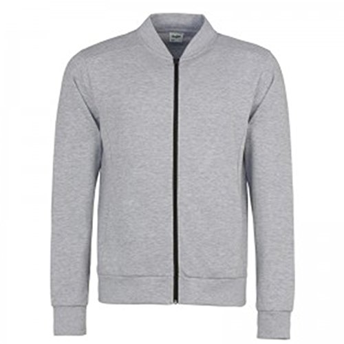 Awdis Giacca Grey Uomo Heather Jet Black pwpqrFPTxH