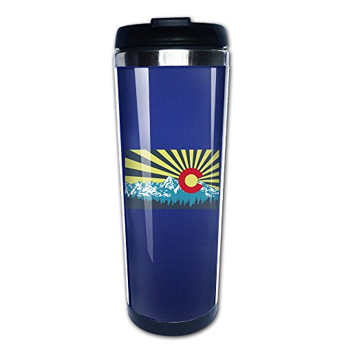 Colorado Flag Coffee Tea Mug Coffee Thermos Travel Stainless Steel Great For Any Cold Or Hot Drinks