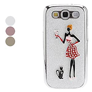 Beauty Pattern Hard Case for Samsung Galaxy S3 I9300 (Assorted Colors) --- COLOR:Purple