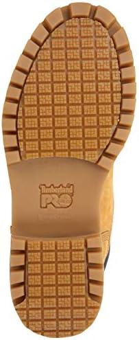Timberland PRO 6-inch Direct Attach Men's Steel Toe, EH, Slip Resistant, Waterproof Boot