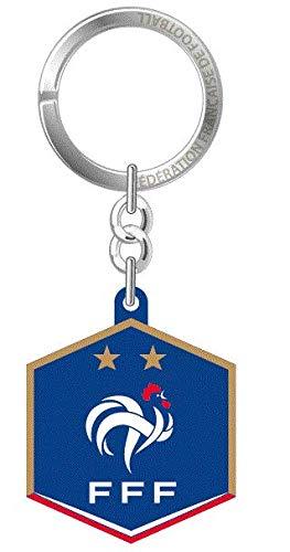 Porte-cl/és Logo PVC de la FFF