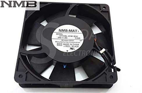 For NMB 4710SL-05W-B56 12025 24V 0.64A 12cm 120mm aluminum frame high tempreture axial industrial cooling fan