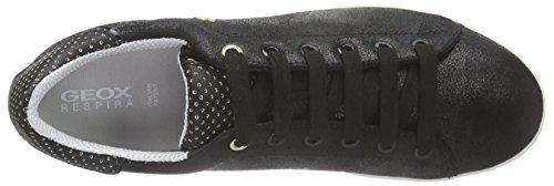 Geox D Jaysen A - Zapatillas Para Mujer Negro - Noir (C9999)