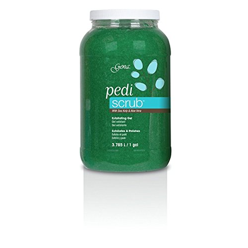 Pedicure Exfoliating Foot Scrub - Gena Pedi Scrub Gel Gallon, 128 Fluid Ounce