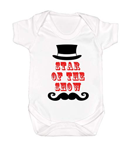Star of The Show-Ring Master Baby Clothes-Ringmaster- Ringmaster Outfit-Circus Ringmaster Romper-Circus Birthday-Carnival Birthday (24 Months) ()