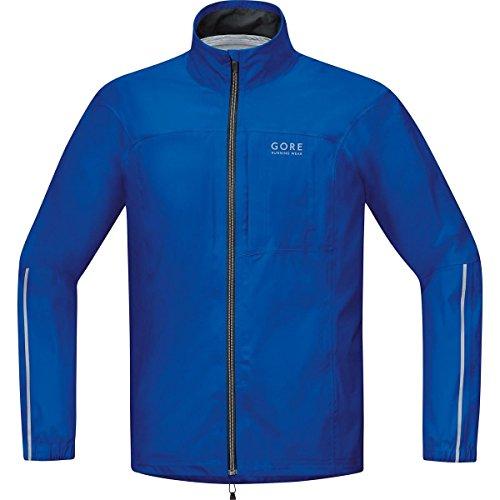 GORE RUNNING WEAR Herren Laufjacke, GORE-TEX Active, ESSENTIAL GT AS Jacket, Größe M, Blau, JGMESS