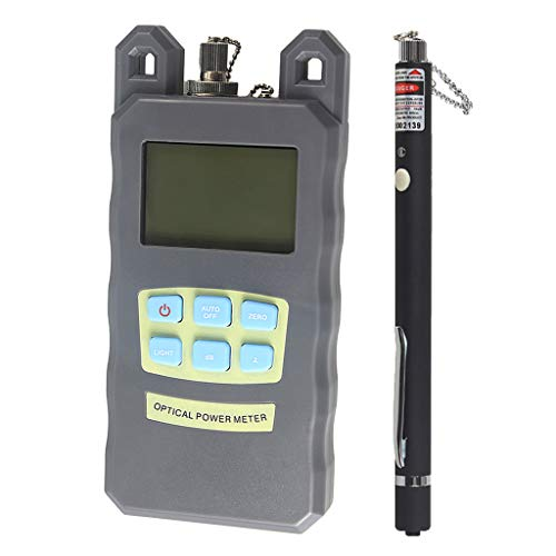 Baosity 1Set Fiber Optic Cable Tester Optical Power Meter with Sc & Fc Connector Fiber Tester +10mW Visual Fault Locator for CATV Test,CCTV Test by Baosity (Image #10)