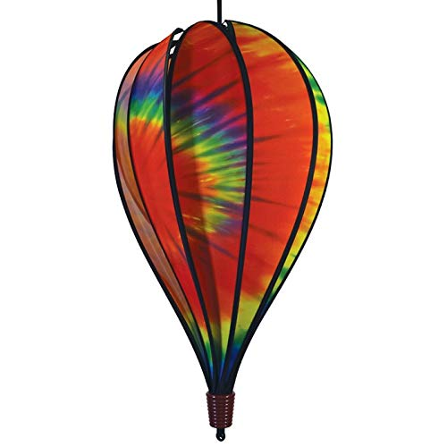 In the Breeze 0994 Hot Air Balloon Spinner, 10-Panel, Tie Dye