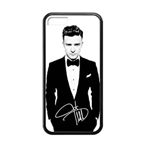 Custom Justin Timberlake New Laser Technology Back Cover Case for iPhone 5C CLP596
