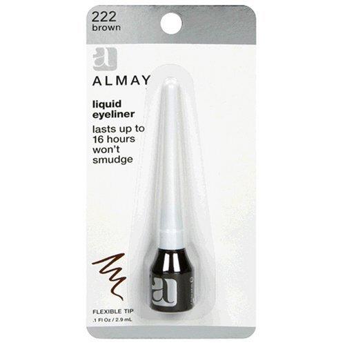 (Almay Liquid Eyeliner, Brown 222, 0.1-Ounce Package by)
