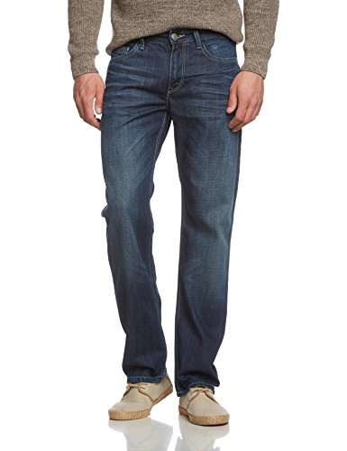 050 New Blue Uomo Used Cross Antonio Jeans Dark Blu Da true qngvHUCg