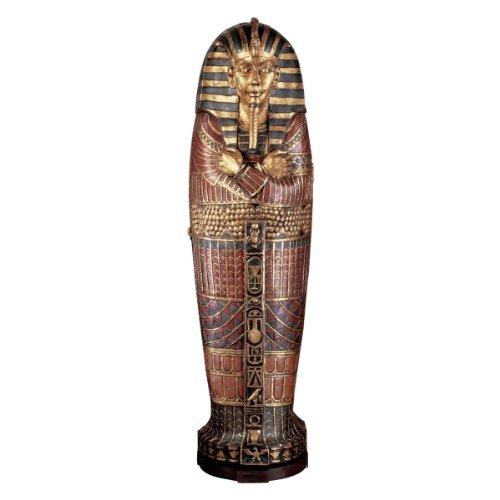 Design Toscano King Tutankhamen's Life-Size Sarcophagus