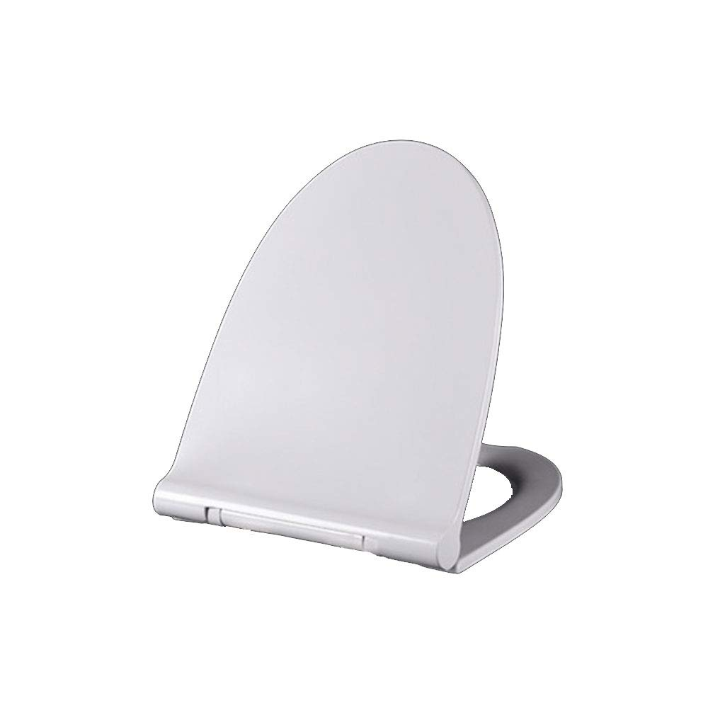 43.2-48.238CM CZTC Toilet Seat V U Toilet Seat Thickening Universal Toilet Lid Urea-formaldehyde Resin Toilet Cover (Size   43.246.5  36CM)
