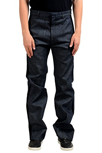 (Dsquared2 Men's Blue Denim Casual Pants US 32 IT 48)
