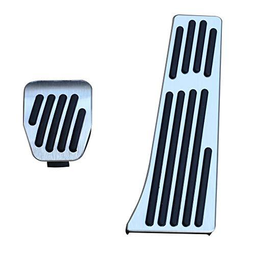 ZHOUMOTB Car Gas Fuel Brake Foot Pedal Cover Fit,for BMW M3 M5 M6 E90 E91 E92 F10 F06 F12 F13 Accessories Trim