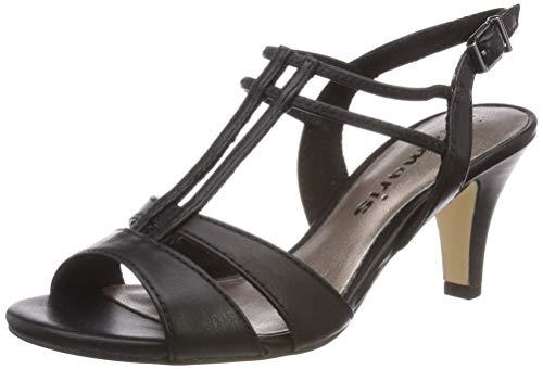 Alla Con 28304 1 Caviglia Donna black Cinturino Matt Tamaris Nero 20 22 Sandali 1 ZTnwq0