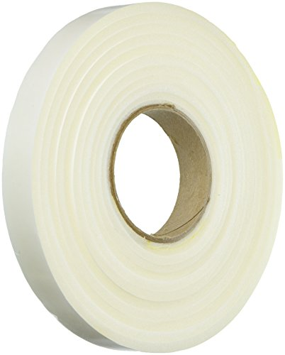 Frost King L343 Poly Foam Tape-Open Cell-Maximum Compression, L343-1, 17ft L, White-1/4 Thick, 1