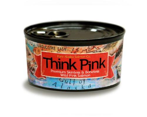 Think Pink Wild Alaska Pink Salmon Fillets