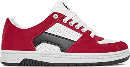(Etnies Senix Lo Skate Shoes Mens Sz 11.5 Red/White/Black )