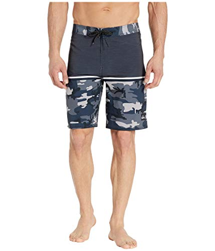 Quiksilver Men's Highline Division 20 Boardshort Swim Trunk, Iron gate, 34