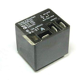 Potter Brumfield S87R5D2B1D1-24 Relay 24vdc 20a 277vac SPDT 20 amp New Nnb