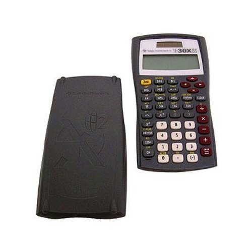 Texas Instruments TI-30X IIS 2-Line Scientific Calculator, Grey