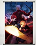 Anime Fate Stay Night Home Decor Poster Wall Scroll Janpan Art Cosplay Rin Tohsaka 23.6 x 35.4 Inches-429[A]