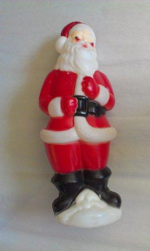 Blow Mold Santa - Vintage 1973 Carolina Enterprises Santa Claus Blow Mold