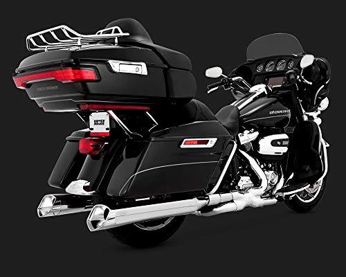 Vance & Hines 06-16 Harley FLHX2 Monster V Slip-On Exhaust (Chrome with Chrome Tips)
