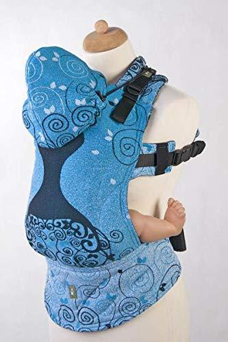 LennyLamb Blue PRINCESSA Toddler Size Ergonomic Soft Structured Carrier (Toddler) (Best Ssc Baby Carrier)