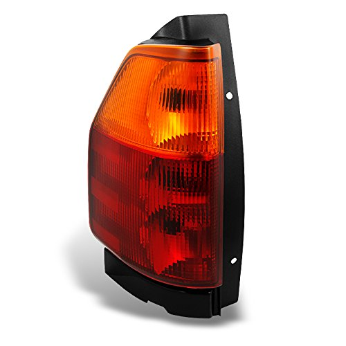 gmc-envoy-red-clear-tail-light-tail-brake-light-lamp-driver-left-side-replacement-assembly