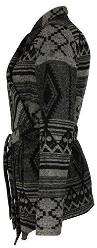 DreiMaster - Abrigo 35436021 - Mujer Negro