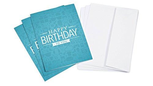 Amazon.de Grußkarte mit Geschenkgutschein - 3 Karten zu je 15 EUR (Geburtstag)
