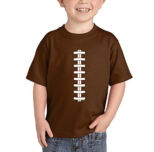ball Line - Laces T-Shirt (Brown, 18 Months) ()