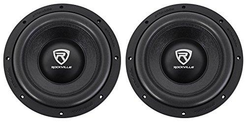 (2) Rockville W10K6D4 V2 10'' 4000 Watt Car Audio Subwoofers Dual 4-Ohm Subs by Rockville