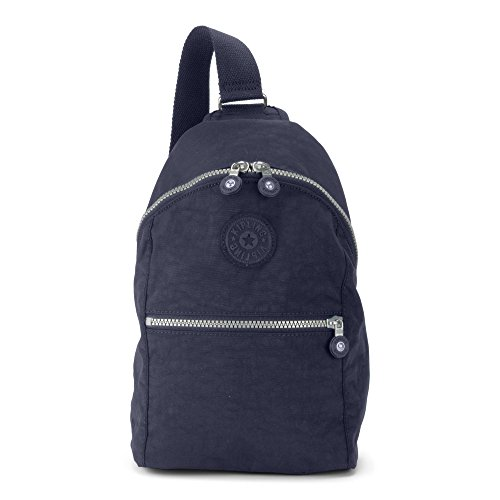 Bente True Kipling Backpack Metallic Blue Women's SxxIUqH