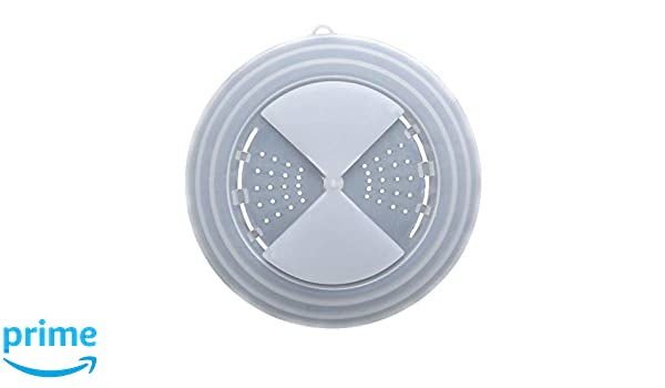 Tapa de plato para Microondas - con agujeros de drenaje ...