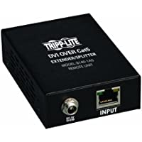 Tripp Lite DVI over Cat5 / Cat6 Extender, Extended Range Video Receiver 1920x1080 at 60Hz(B140-1A0)
