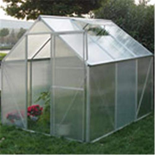 Jur_Global AmeriLux W607 Polycarbonate Hobby Greenhouse with Steel Base - Polycarbonate Greenhouse Glazing