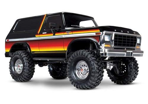 Traxxas TRX-4 Ford Bronco 1/10 Trail and Scale Crawler, Sunset (Rc Trail 6x6 Truck)