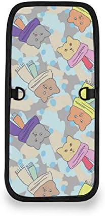 トラベルウォレット ミニ ネックポーチトラベルポーチ ポータブル ネコ柄 猫柄 小さな財布 斜めのパッケージ 首ひも調節可能 ネックポーチ スキミング防止 男女兼用 トラベルポーチ カードケース
