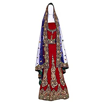 Kalaniketan Multi Color Wedding Lehenga Cholis For Women
