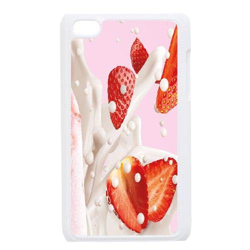 Ice Cream Personalized Cover Case for iPod Touch 4,Customized Phone - Cream Ice Cases Ipod 4