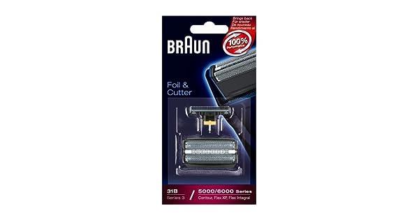 Amazon.com: Braun Láminas de recambio y cortador – 31S ...