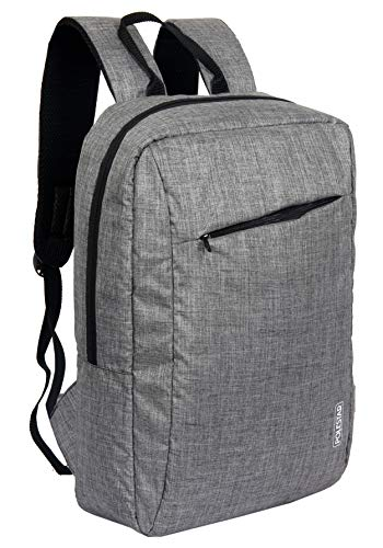 "POLESTAR""Office"" Light Grey Casual Laptop Backpack Bag"