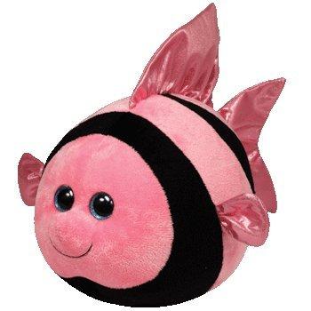 Ty Beanie baby, Gilly Balz - Angelfish Plush -