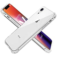 AOWIN iPhone XR Case Clear Designed for Apple iPhone XR Cases Protective Heavy Duty Cover with Soft TPU Bumper Slim Thin [Crystal Clear]