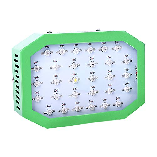 OFADD 300W LED Grow Light Full Spectrum Dual-Chip Growing Lamp for Greenhouse Hydroponic Indoor Plants Herbs with UV IR