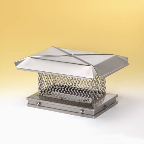 Chimney 13111 Gelco Stainless Steel Chimney Cap - 17 Inches x 17 Inches
